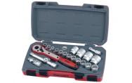 """Hylsyavainsarja ½"""" T1221-12 Teng Tools"""
