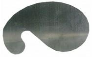 Sikli, käyrä, 140 mm