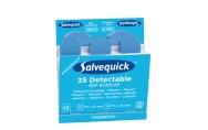 Muovilaastari sininen Salvequick 6735 CAP 6 pakk