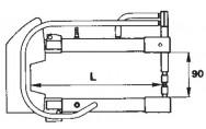 Elektrodivarret Tecna 7903 P